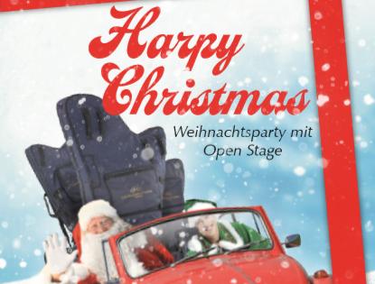 Harpy Christmas – Open Stage und Weihnachtsparty