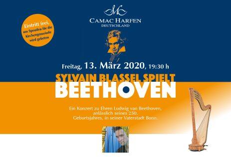 KONZERT: Sylvain Blassel spielt Beethoven in Bonn – anlässlich Beethovens 250. Geburtsjahres